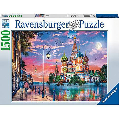 Ravensburger Puzzle Moscow, 1.500 Teile