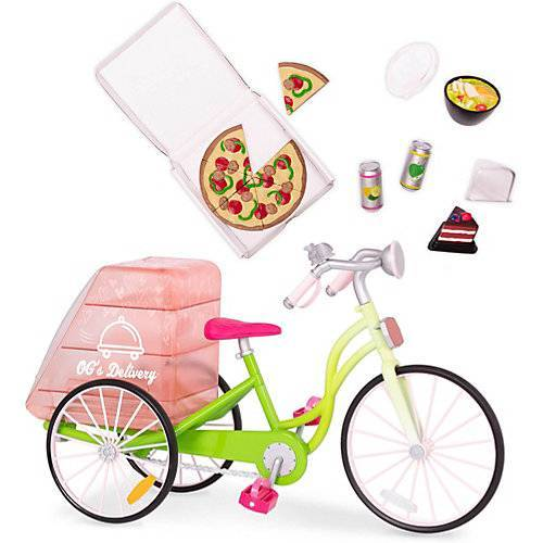 Our Generation Fahrrad-Lieferservice Set