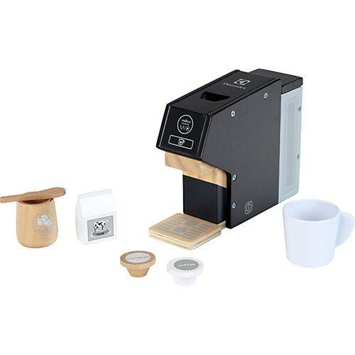 Klein Electrolux Kaffeemaschine inkl. Kapseln, Holz