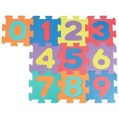 bieco Puzzlematte Baby 20 tlg Spielmatte Baby XXL Puzzle Kinder Krabbeldecke Turnmatte Bodenpuzzle