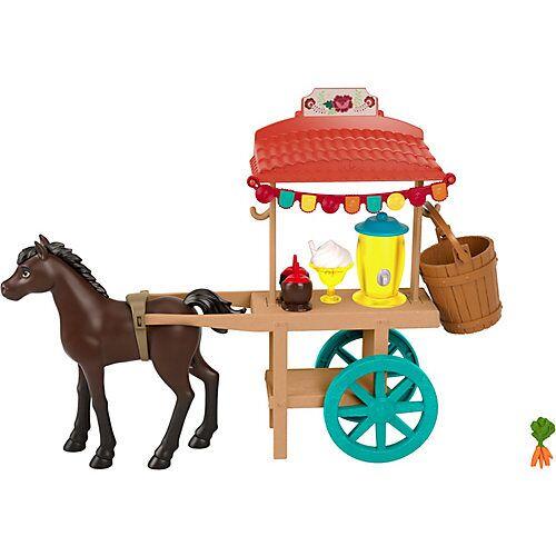 """Mattel """"Spirit – frei und ungezähmt"""" Miradero Festival Imbisswagen mit Pony und Zubehör"""