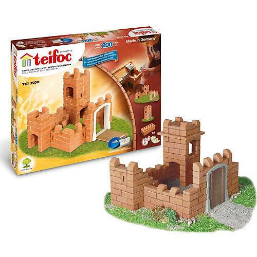 """teifoc """"teifoc TEI 3500 Steinbaukasten - """"""""Burg"""""""""""""""