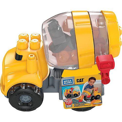 Mattel Mega Bloks CAT Betonmischer (9 Teile)