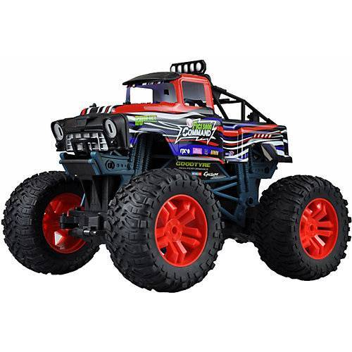 Amewi Red Command Big Monstertruck 2WD, 1:10, RTR rot