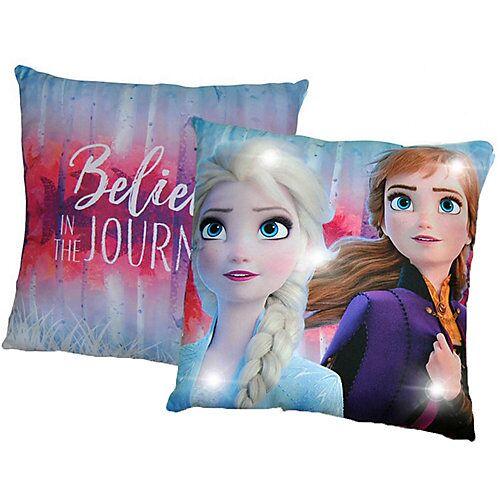 Disney Die Eiskönigin Die Eiskönigin, Kissen mit LED, 40 x 40 cm