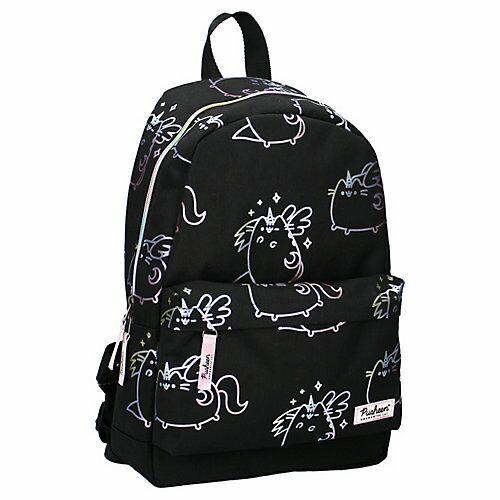 Rucksack Pusheen Super Kitty Kindergartenrucksäcke schwarz