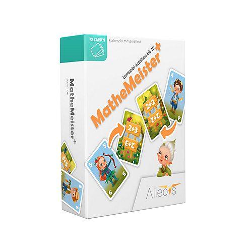 Alleovs Mathe Meister Plus - Lernspiel Addition Kartenspiele