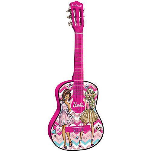 LEXIBOOK Barbie Rock'n Royals Akustikgitarre - 78 cm rosa/lila