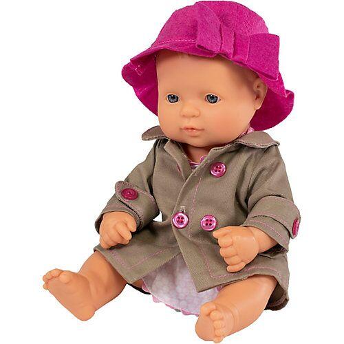 Miniland Babypuppe Mädchen + Kleid 32 cm bunt