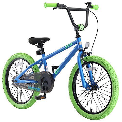 bikestar Kinderrad 20 Zoll BMX blau-kombi