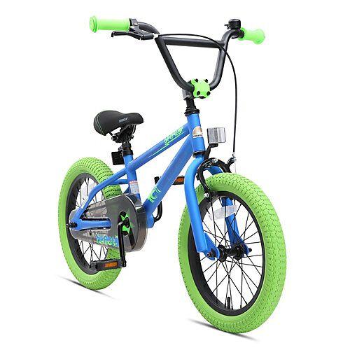 bikestar Kinderrad 16 Zoll BMX blau-kombi