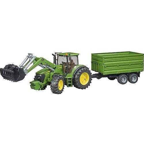 BRUDER 03055 Traktor John Deere 7930 mit Frontlader