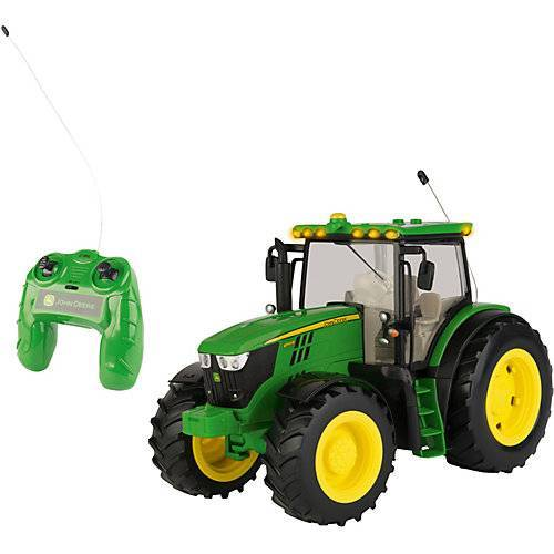 TOMY Ferngesteuerter RC JD 6190R Traktor