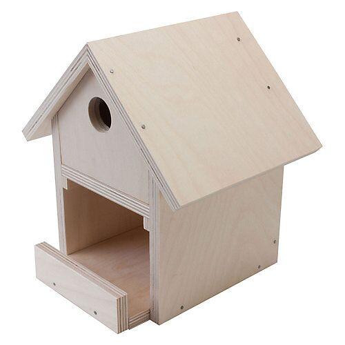 Pebaro Holzbausatz Vogelhaus