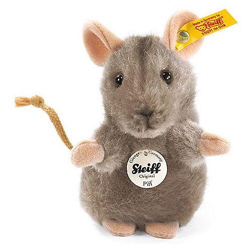 Steiff Piff Maus, grau 10 cm