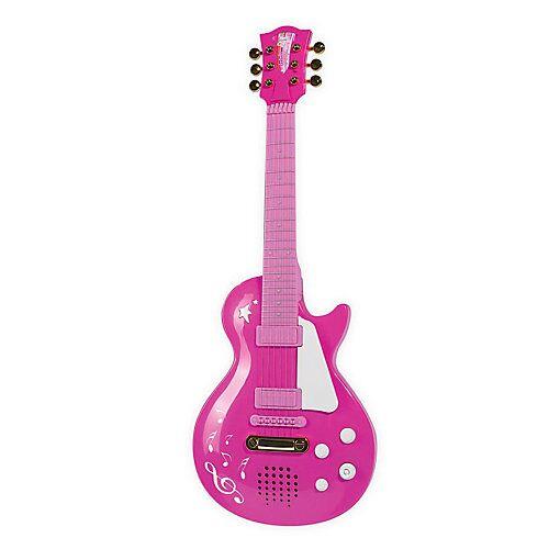 Simba Rockgitarre rosa