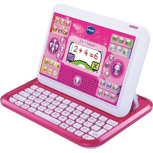 Vtech 2-in-1 Tablet & Laptop, pink
