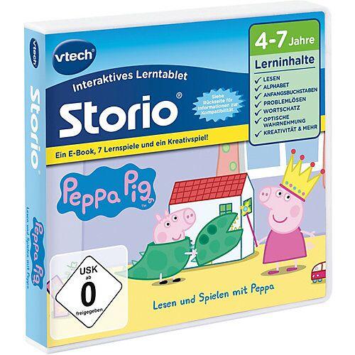 Vtech Storio Peppa Pig E-Book mit 7 Lernspielen & 1 Kreativspiel