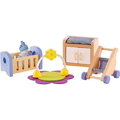 HAPE Puppenmöbel Babyzimmer