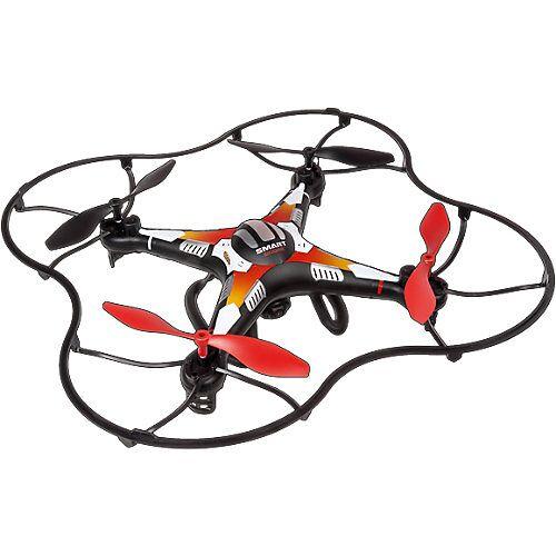 Gear2Play RC Quadrocopter Gear2Play Smart Drone 2,4 GHz mit Kamera und SmartPhonehalterung