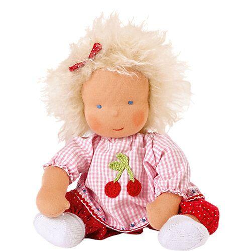 Käthe Kruse Stoffpuppe Waldorf Baby, 33 cm