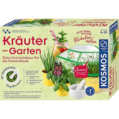 Kosmos Kräutergarten