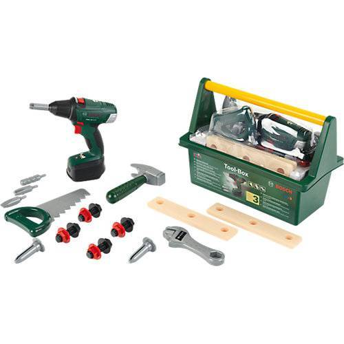Klein BOSCH Werkzeug Box mit Akkuschrauber