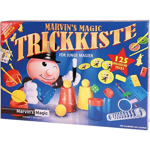 Marvins Magic Marvin`s Zauber-Set mit 125 Tricks