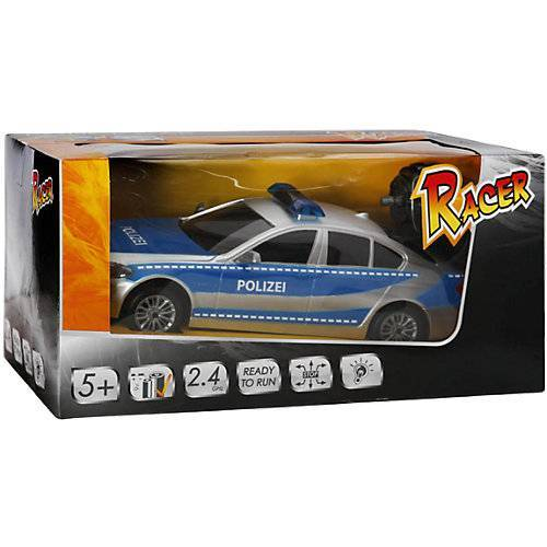 The Toy Company RC Racer Polizeiwagen mit Licht, 2.4GHZ