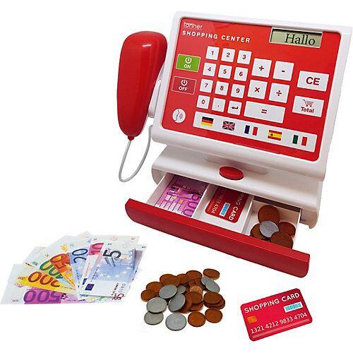 Chr. Tanner Elektronische Spielkasse, rot/weiß