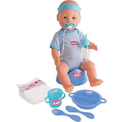 Simba New Born Baby Junge Babypuppe