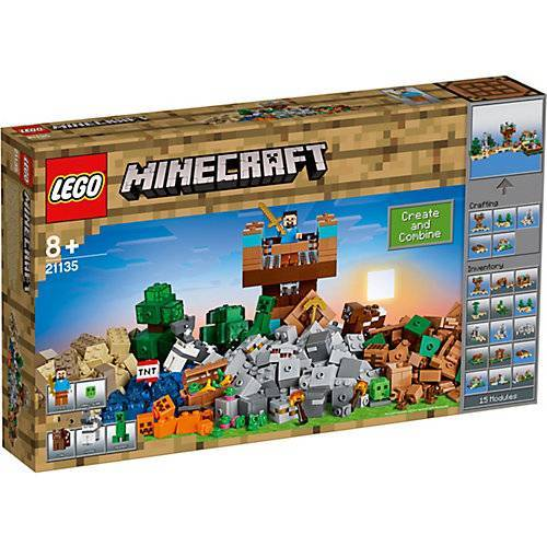 LEGO 21135 Minecraft: Die Crafting-Box 2.0