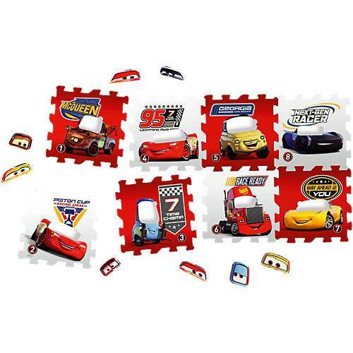 KNORRTOYS.COM Puzzlematte Cars, 8-tlg.