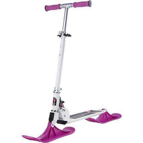 Stiga Snow Kick Scooter white pink