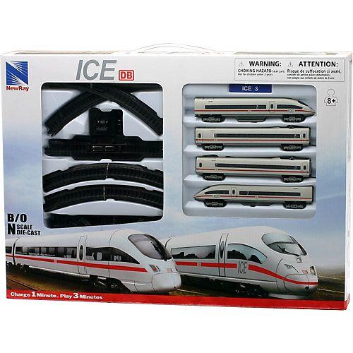 New Ray N-Zug Set ICE 3 Batteriebetrieben