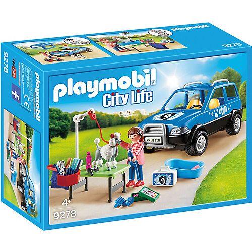 PLAYMOBIL® 9278 Mobiler Hundesalon