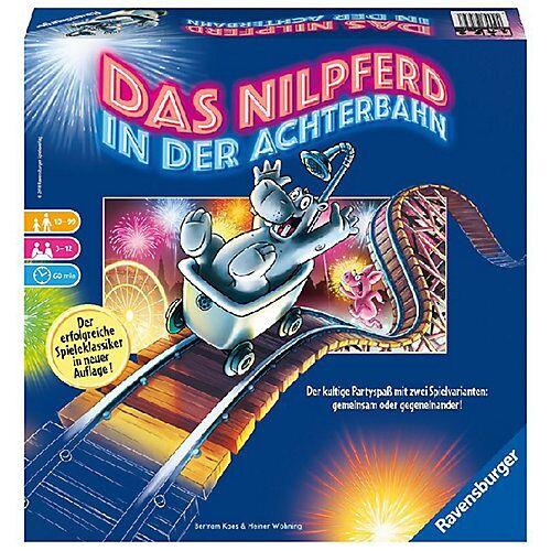 Ravensburger Nilpferd in der Achterbahn