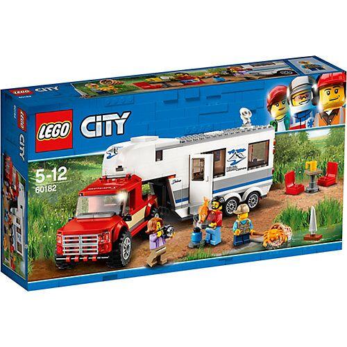 LEGO 60182 City: Pickup & Wohnwagen