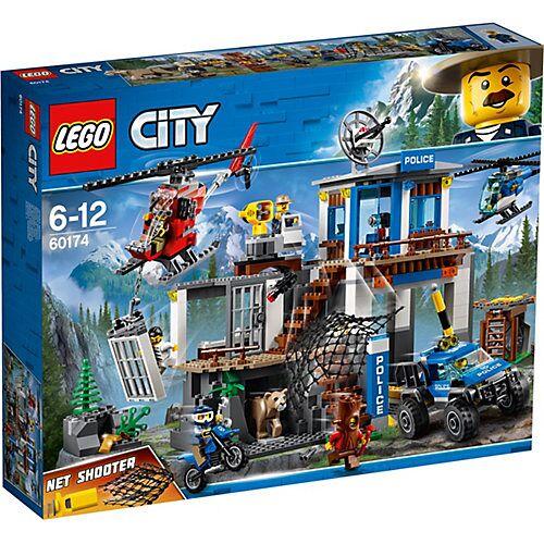 LEGO 60174 City: Hauptquartier der Bergpolizei