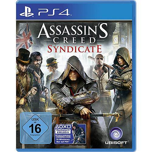 ak tronic PS4 Assassins Creed Syndicate