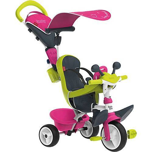 Smoby Dreirad Baby Driver Komfort, rosa