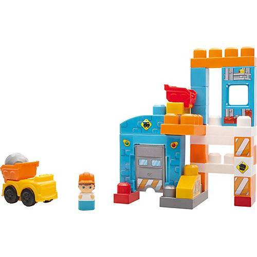 Mattel Mega Bloks Baustein-Spielzeug Baustelle