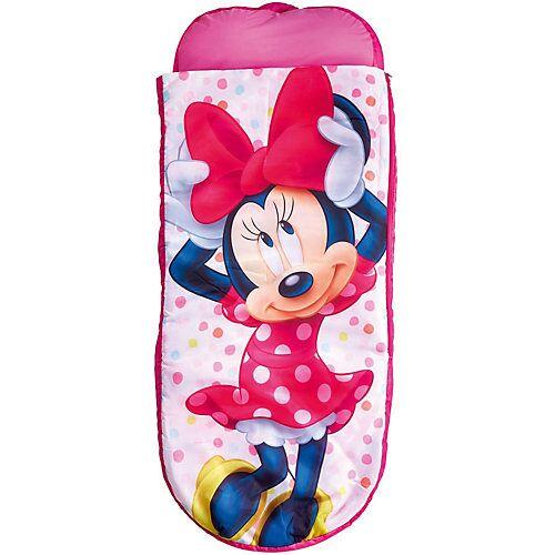WORLDS APART ReadyBed Junior 2in1 (Schlafsack, Kissen und Luftmatratze), Minnie Mouse pink/weiß