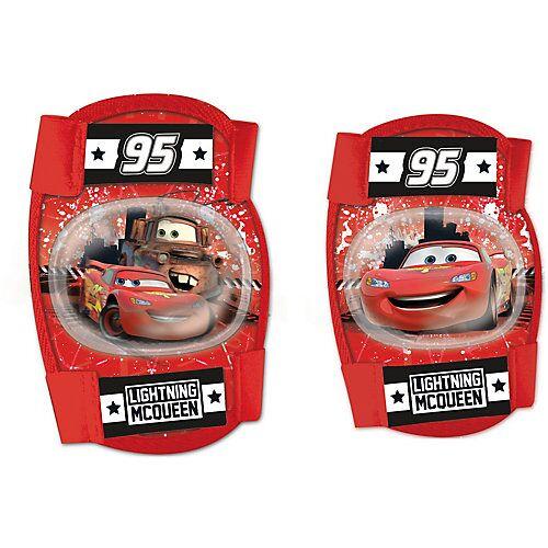 Disney Cars Knie- und Ellenbogenschoner Cars rot