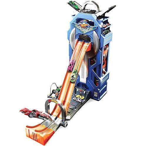 Mattel Hot Wheels City Power-Parkgarage