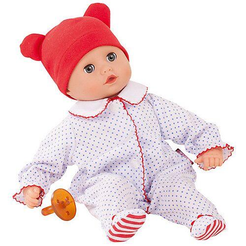 Götz Muffin mit Schnuller, rote Mütze, 33cm, Babypuppe
