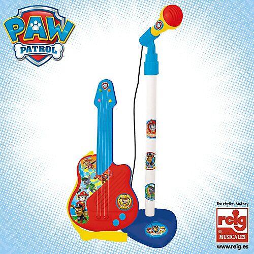PAW Patrol Mikrofon und Gitarre bunt