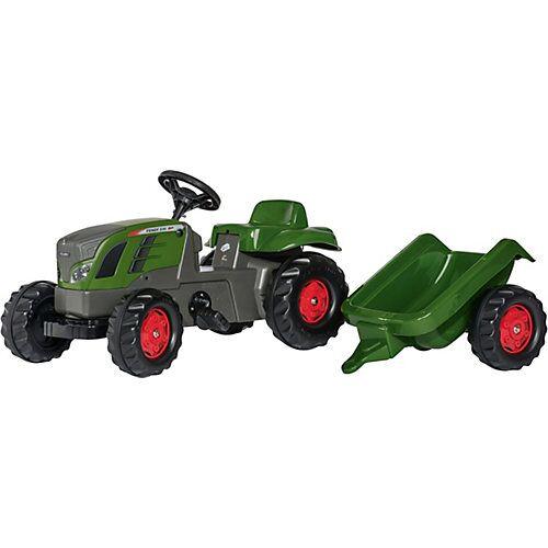 Rolly Toys rollyKid Trettraktor Fendt 516 Vario mit Anhänger grün