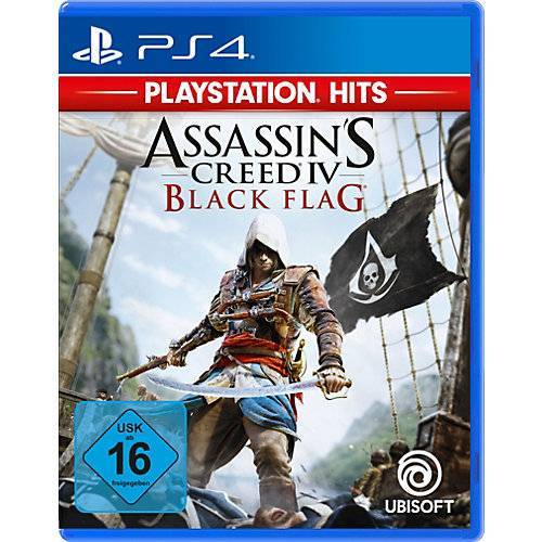 ak tronic PS4 Assassins Creed 4 - Black Flag (PS Hits)