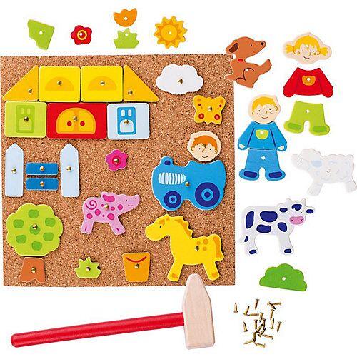 goki Hammerspiel Farm (Kinderspiel)